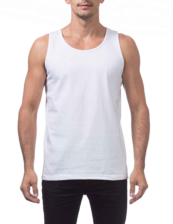 Pro Club Men's Heavyweight Cotton Tank Top Outerwear