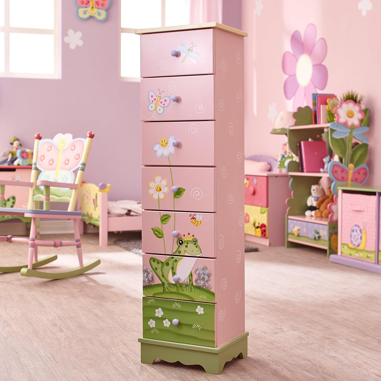 C/ómoda infantil de madera con cajones Magic Garden de Fantasy Fields/W-8987A