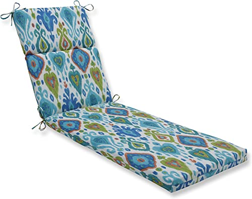 Pillow Perfect Outdoor/Indoor Paso Caribe Chaise Lounge Cushion