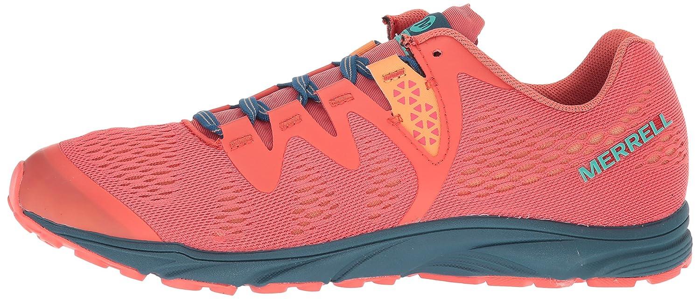 Merrell B072Q1SPBC Women's Riveter E-Mesh Sneaker B072Q1SPBC Merrell 8.5 B(M) US|Hot Coral a2659c