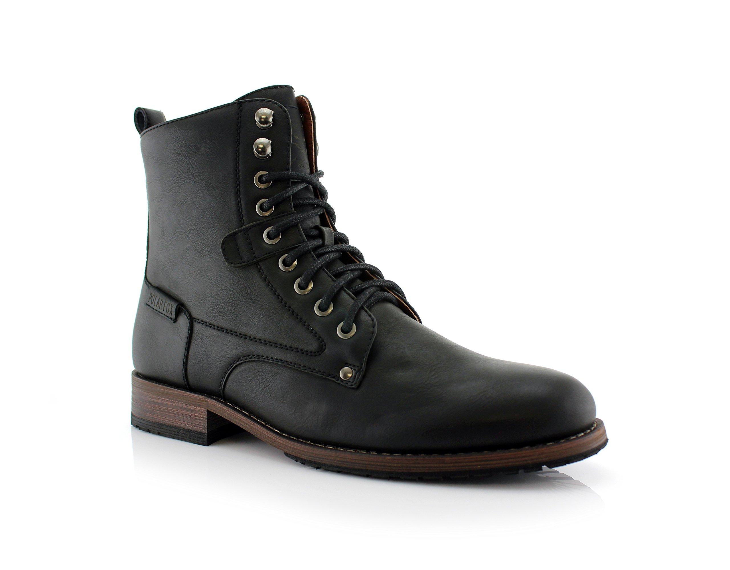 Polar Fox Curry MPX808580 Stylish Boots (8, Black)
