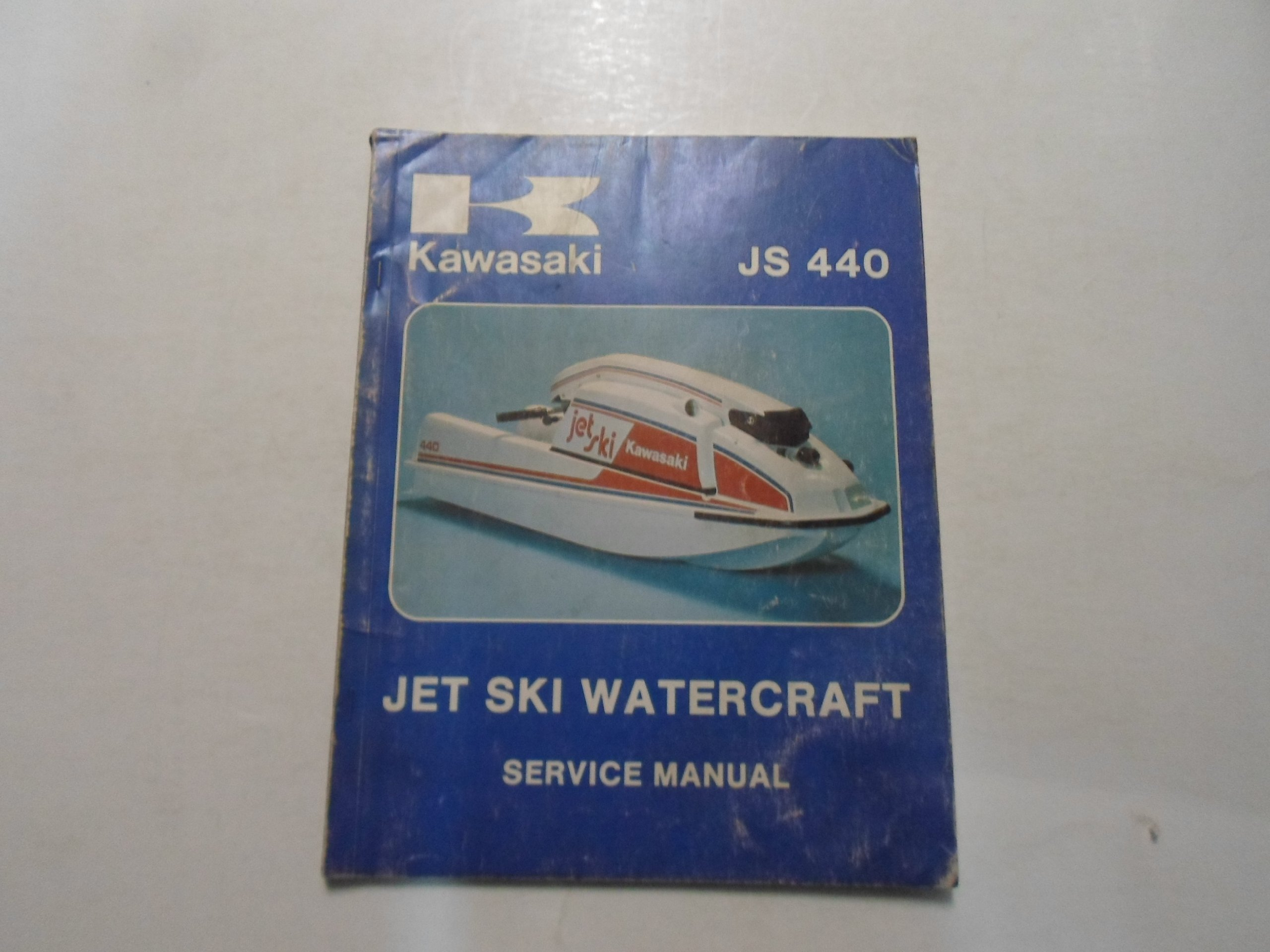 1977 1978 Kawasaki Jet Ski Watercraft JS 440 Service Repair Manual WATER  DAMAGED: KAWASAKI: Amazon.com: Books