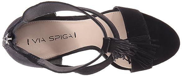 Amazon.com | Via Spiga Women's Eilish Dress Sandal | Heeled Sandals