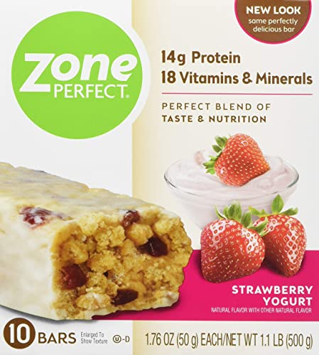 Zone Perfect Zoneperfect Protein bar Strawberry Yogurt