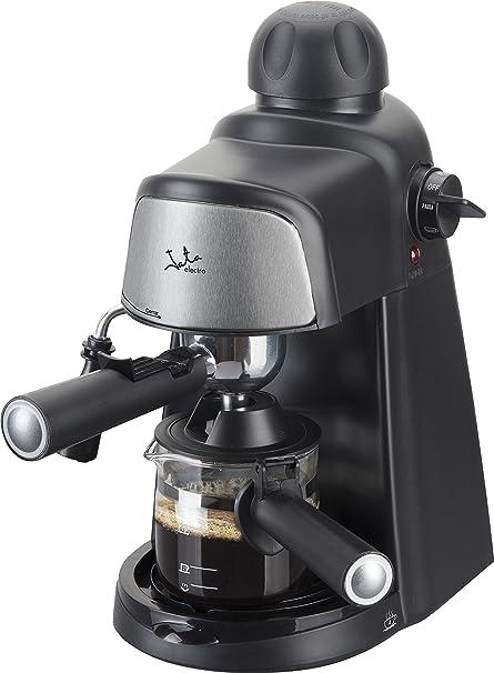 Jata CA704 Cafetera por hidropresión. Para 2-4 cafés expresso. 3,5 bar 4 posiciones. Filtro de acero inoxidable. Con diseño compacto para almacenar de maner sencilla.: Amazon.es: Hogar