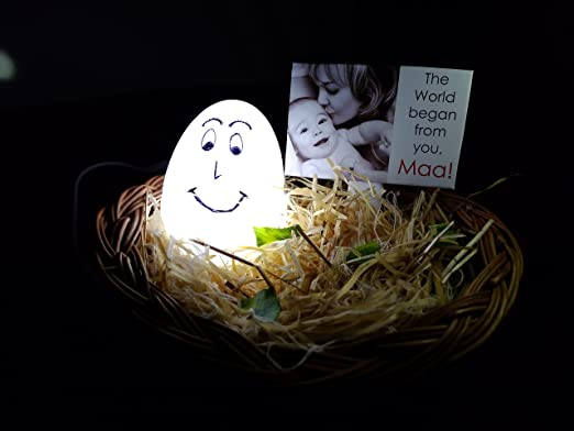 Mother's Nest Personalized Lamp