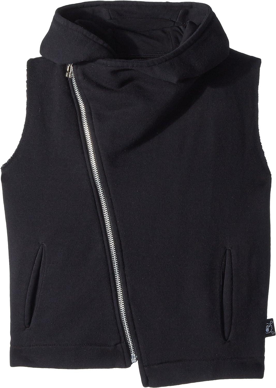 3ae2288d NUNUNU Boy's Hooded Diagonal Vest (Little Kids/Big Kids) Black 12/14 Years:  Amazon.co.uk: Clothing