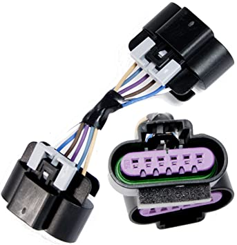Amazon.com: APDTY 104224 Wiring Harness Connector For Accelerator ...