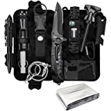 KEPEAK Survival Gear, Professional Emergency Kit, Outdoor Survival Kit for Camping, Hiking, Earthquake and Other Emergency
