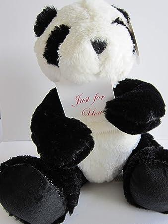 Amazon Com Pouchey 9 Panda Bear Stuffed Animal Cute Soft And