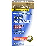 GoodSense Acid Reducer, Ranitidine Tablets, 150 mg, 50-count