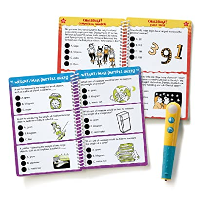 Amazon.com : Educational Insights Hot Dots Let's Master Grade 3 ...