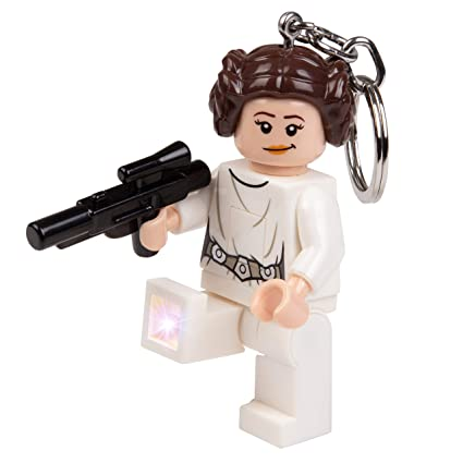 Amazon.com: LEGO Star Wars Princesa Leia con Blaster LED ...