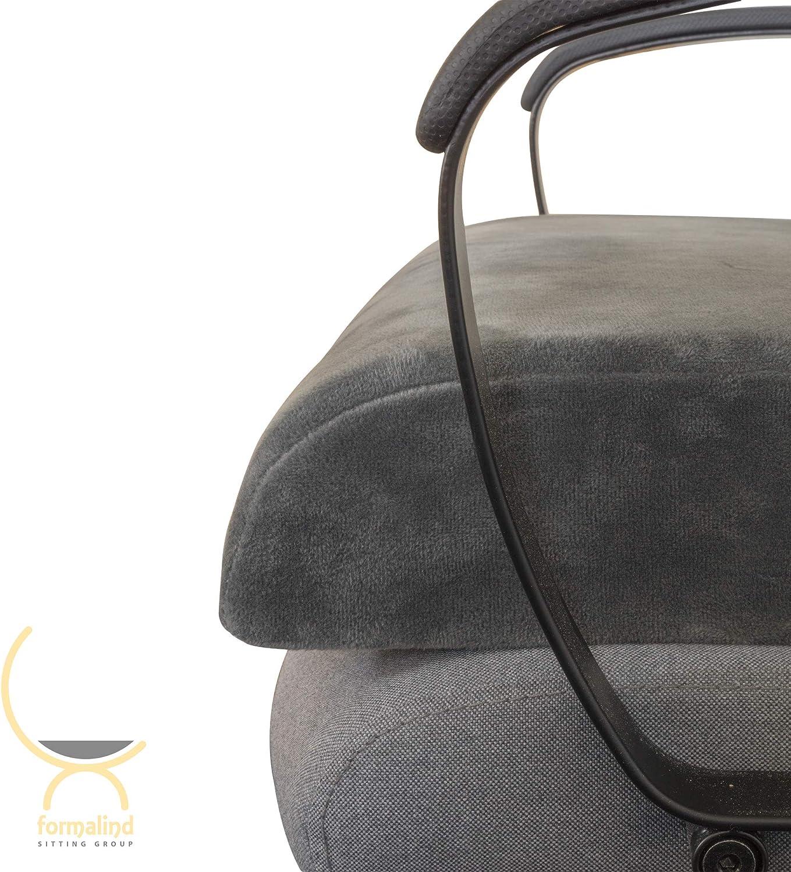 B/ürost/ühle //// Viscoelastisches Sitzpolster gegen Verspannungen und Schmerzen Sessel XL Sitzkissen von Formalind f/ür Gartenm/öbel