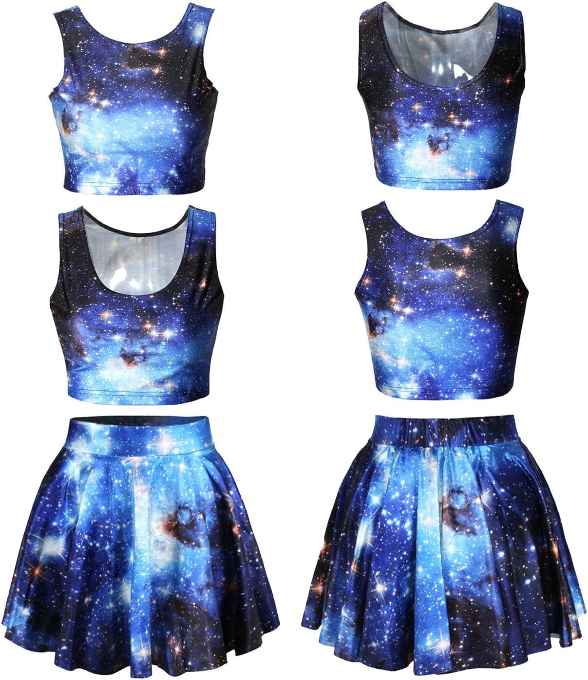 Fuson Chaquetas de vestido de impresión de la galaxia de las ...
