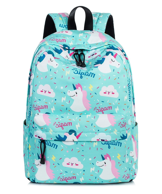 Cute Unicorn Backpack Water Resistant Laptop Backpack Bookbags School Bags Travel Daypack by VOLINER