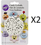Candy Decorations 50/Pkg-White Eyeballs