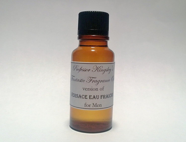 Professor Kingsley's Impression of Versace Man Eau Fraiche for Men. Concentrated Fragrance Oil. (1/2 oz Concentrated Splash) Kingsley' s Oils