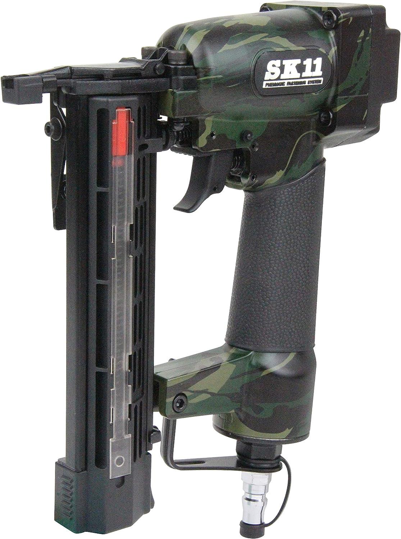 SK11 エア仕上釘打機 フィニッシュネイラー SA-F35L-X1CA 釘足長12~35mm 迷彩柄