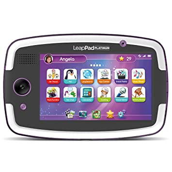 Phenomenal Leapfrog Leappad Platinum Kids Learning Tablet Purple Download Free Architecture Designs Rallybritishbridgeorg