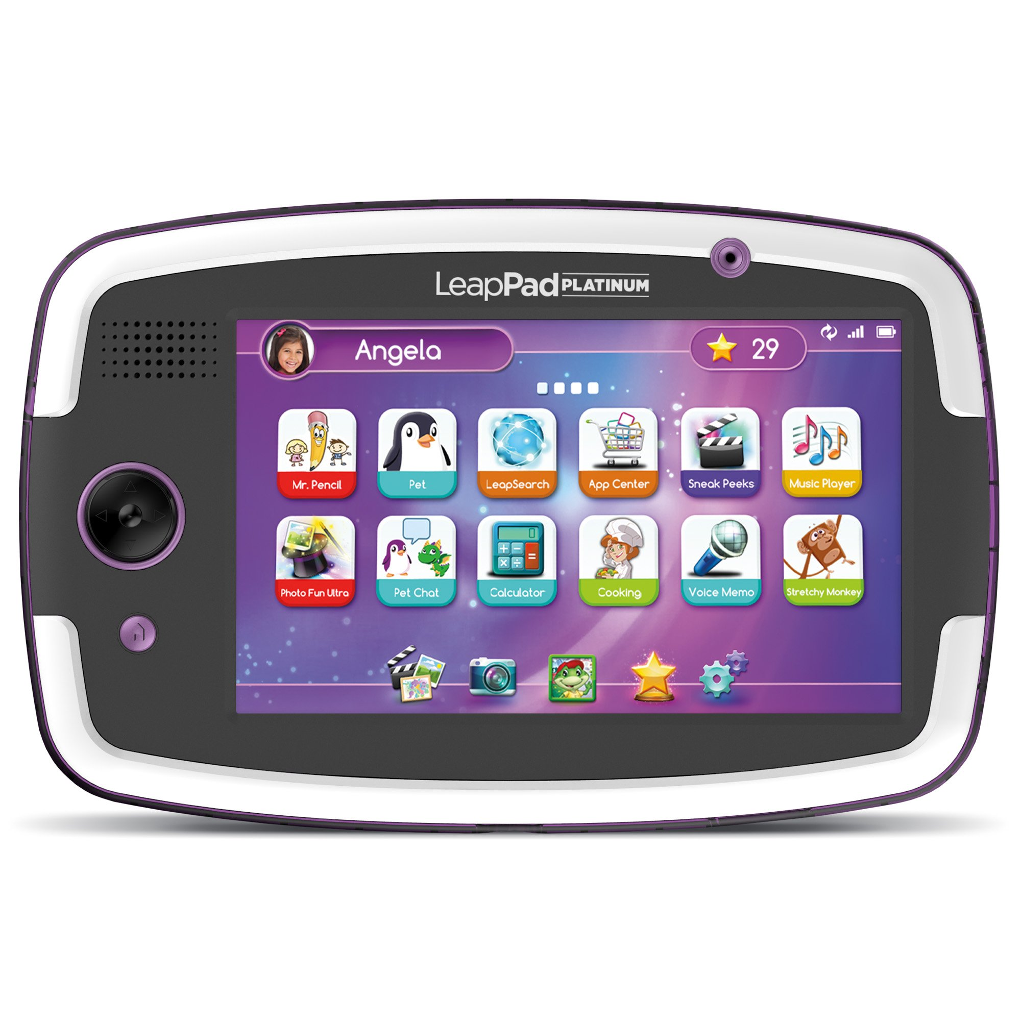 LeapFrog LeapPad Platinum Kids Learning Tablet, Purple
