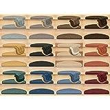 Kettelservice-Metzker® Stufenmatten Treppen-Teppich Rambo 15er SparSet 17 Farben incl. Fleckentferner (Beige)