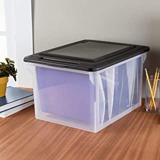 product image for Sterilite 18689004 Storage File Box, 4-Pack