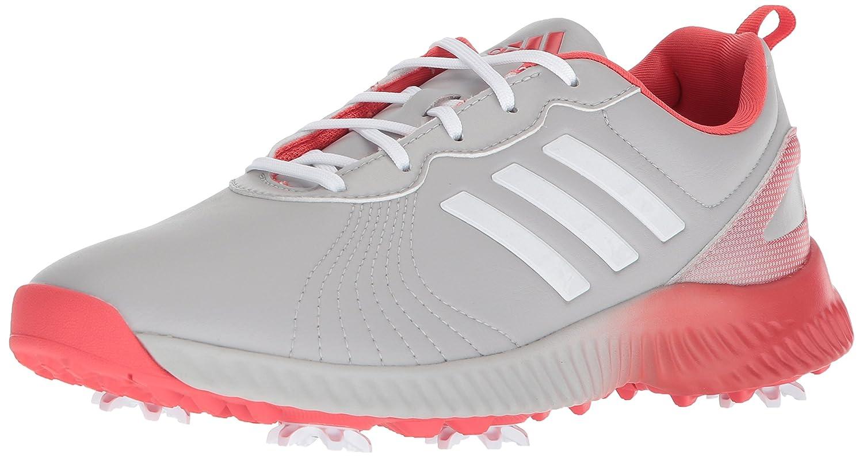 adidas Women's W Response Bounce Golf Shoe B072JB7XXM 8 B(M) US|Grey Two Ftwr White/Real Coral S