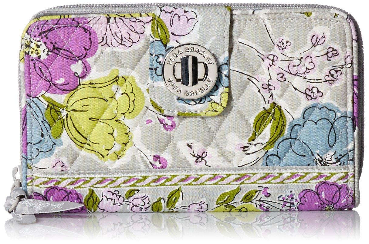Vera BradleyレディースTurn Lock Wallet B004TIK838 Watercolor Watercolor