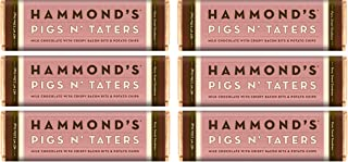product image for Hammonds Gourmet Chocolate Bar – Kosher – 6 Pack – 2.25 oz each (Pigs N' Taters Milk)