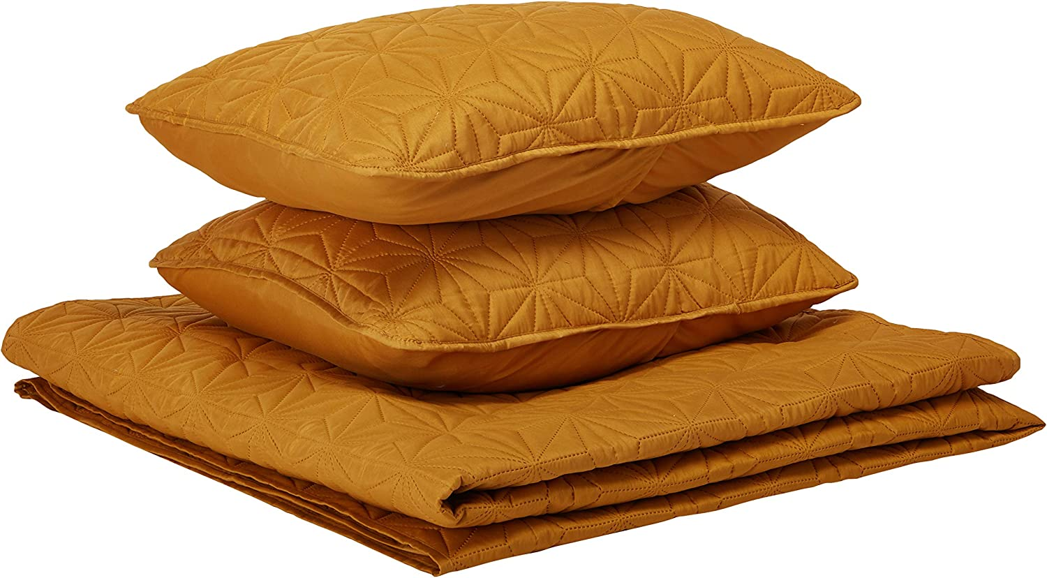 VCNY Home KLI-3QT-FUQU-IN-GL 3-Piece, Full/Queen, Gold