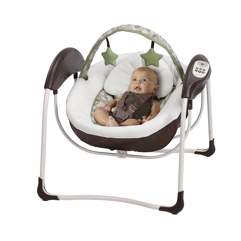 Amazon Graco Glider Lite LX Gliding Baby Swing Zuba Baby