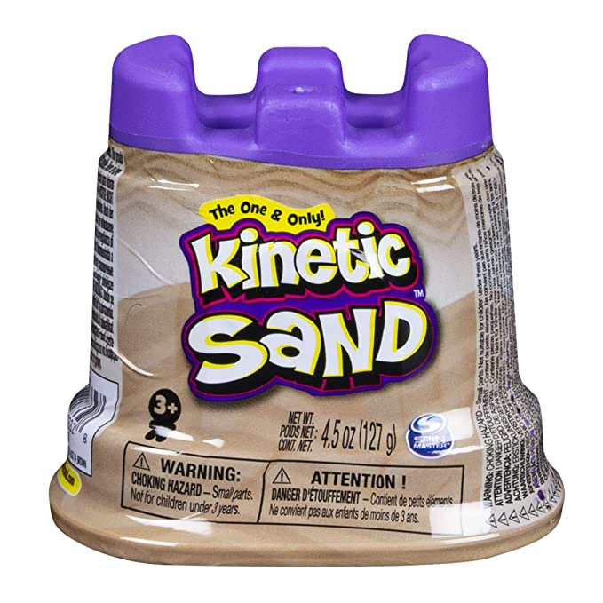 Kinetic Sand - Single Container - 4.5oz - Tan