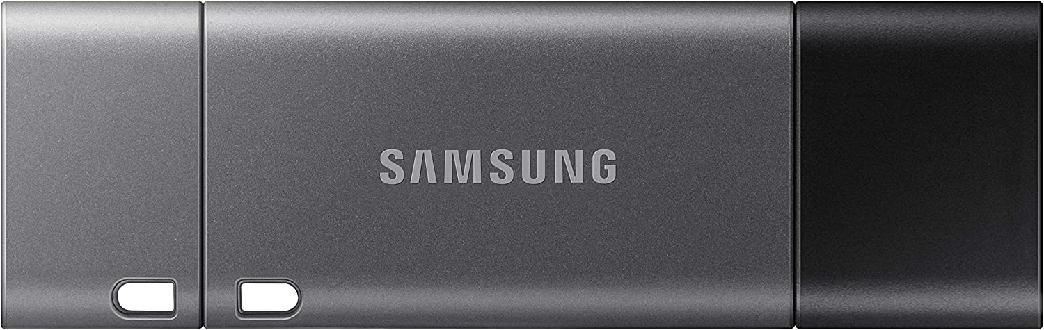 Samsung Duo Plus USB 3.1 Flash Drive 128GB - 300MB/s - Type-C with Type-A Adapter (MUF-128DB/AM)