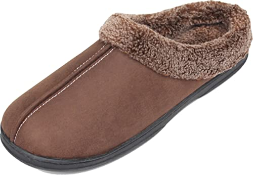 80d9dd3ffde6 Luxehome Men s Cozy Fluff House Footwear Slipper (8-9 US