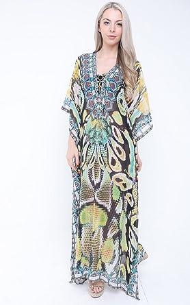 Meilleur Magasin En Ligne Pour Obtenir Amazone En Ligne Aftershock London - Paréo - Kimono - Femme Multicoloured - - 40 tRjWIOWD