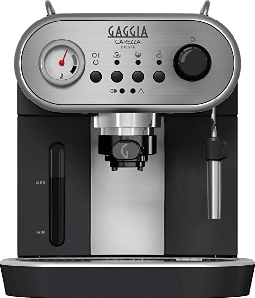 Gaggia Carezza Deluxe - Cafetera (Independiente, Acero inoxidable ...