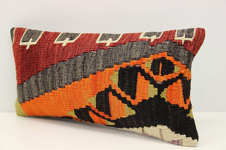 Turkish Kilim Pillow Kilim Pillow Cover Tribal Pillow Lumbar Pillow Handmade Pillow 18x18 Pillow Cover Vintage Pillow Cushion Cover