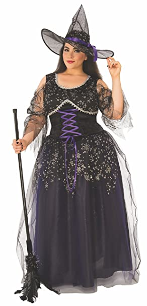 Amazoncom Rubies Womens Plus Size Midnight Witch As Shown One