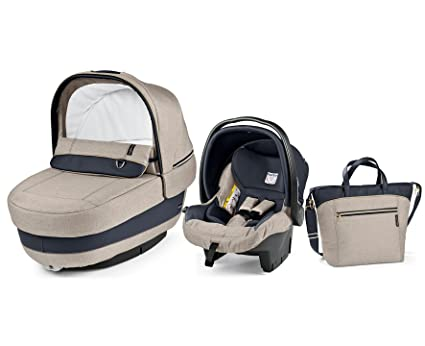 Peg Perego Elite - Set modular completo, color Luxe Beig