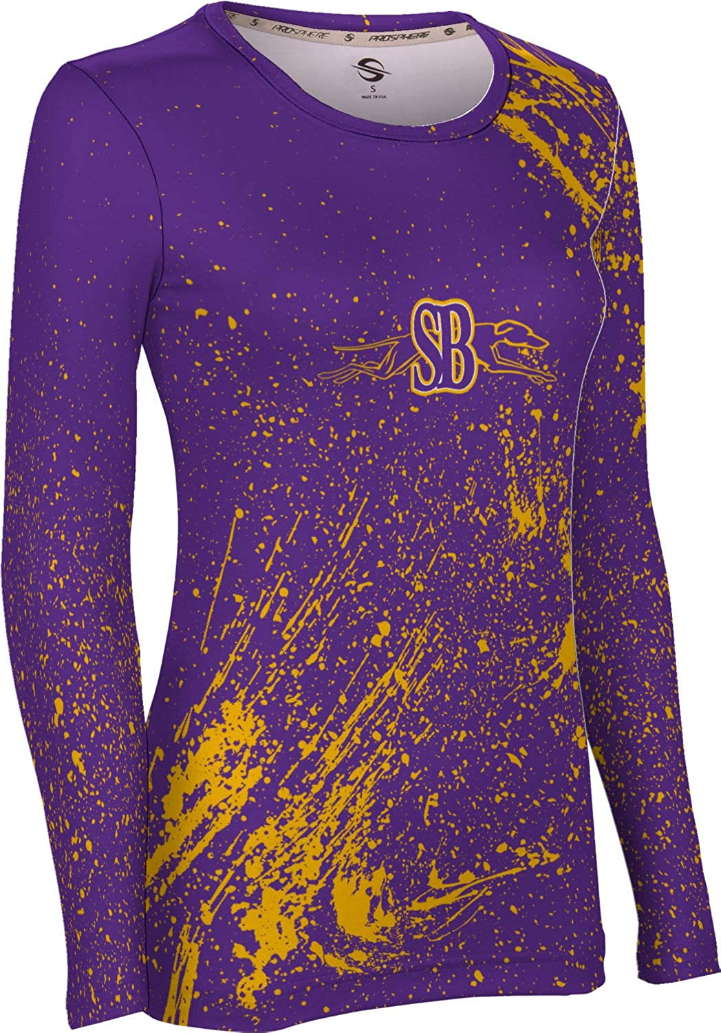 Splatter ProSphere San Benito High School Womens Long Sleeve Tee