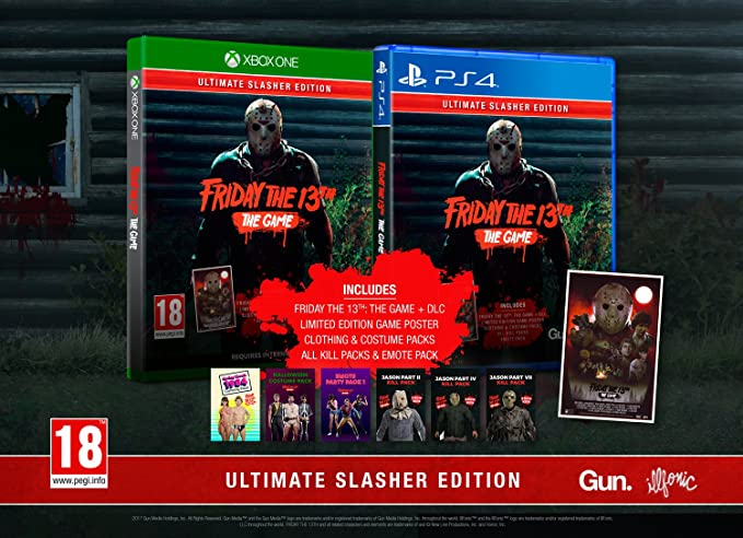 Friday the 13th: The Game Ultimate Slasher Edition - PlayStation 4 [Importación inglesa]: Amazon.es: Videojuegos