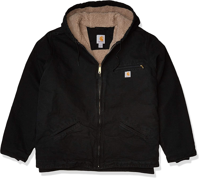 Carhartt Women's Sherpa Lined Sandstone Sierra Jacket (Regular and Plus Sizes)