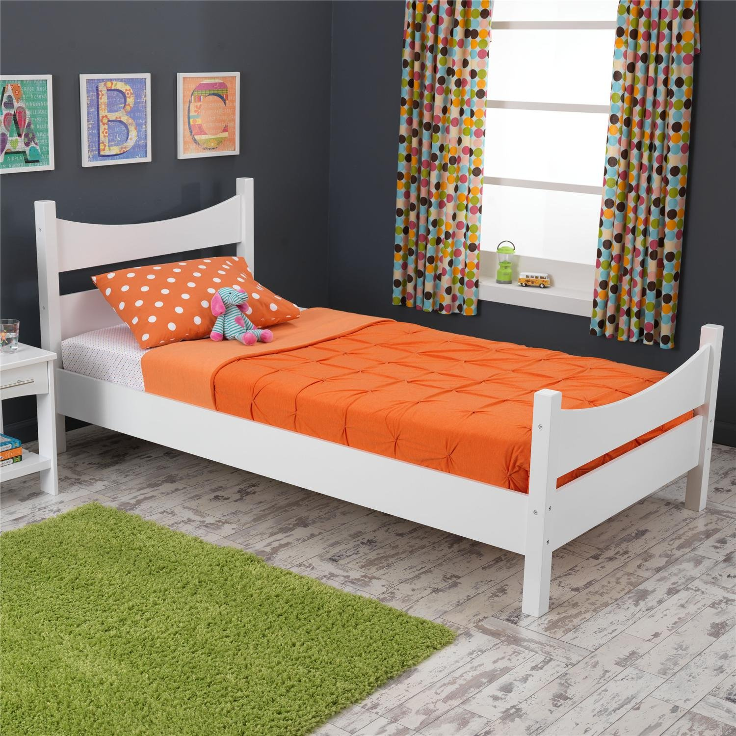 amazoncom kidkraft addison twin bed white toys  games -