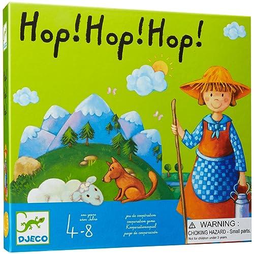 Djeco - 81237 - Hop! Hop! Hop!