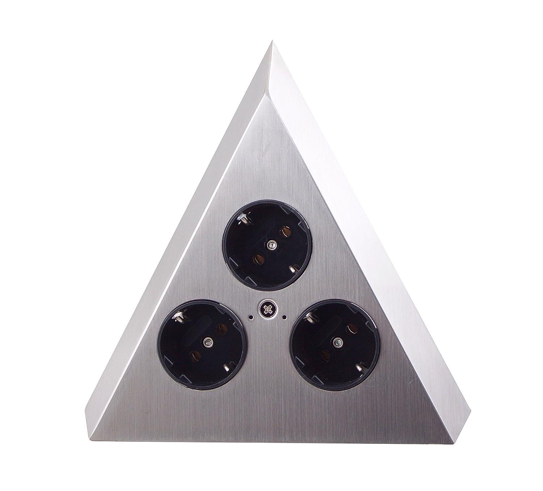 THEBO-Licht Steckdosenelement ST 3007-C in Pyramidenform und 3 ...