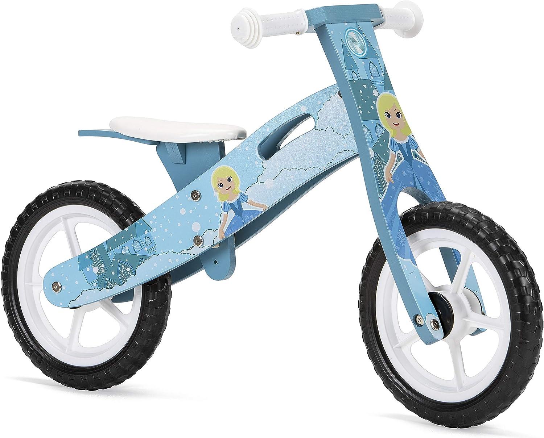 Nicko Ice Princess Kids Girls Childrens Wooden Balance Bike NIC875
