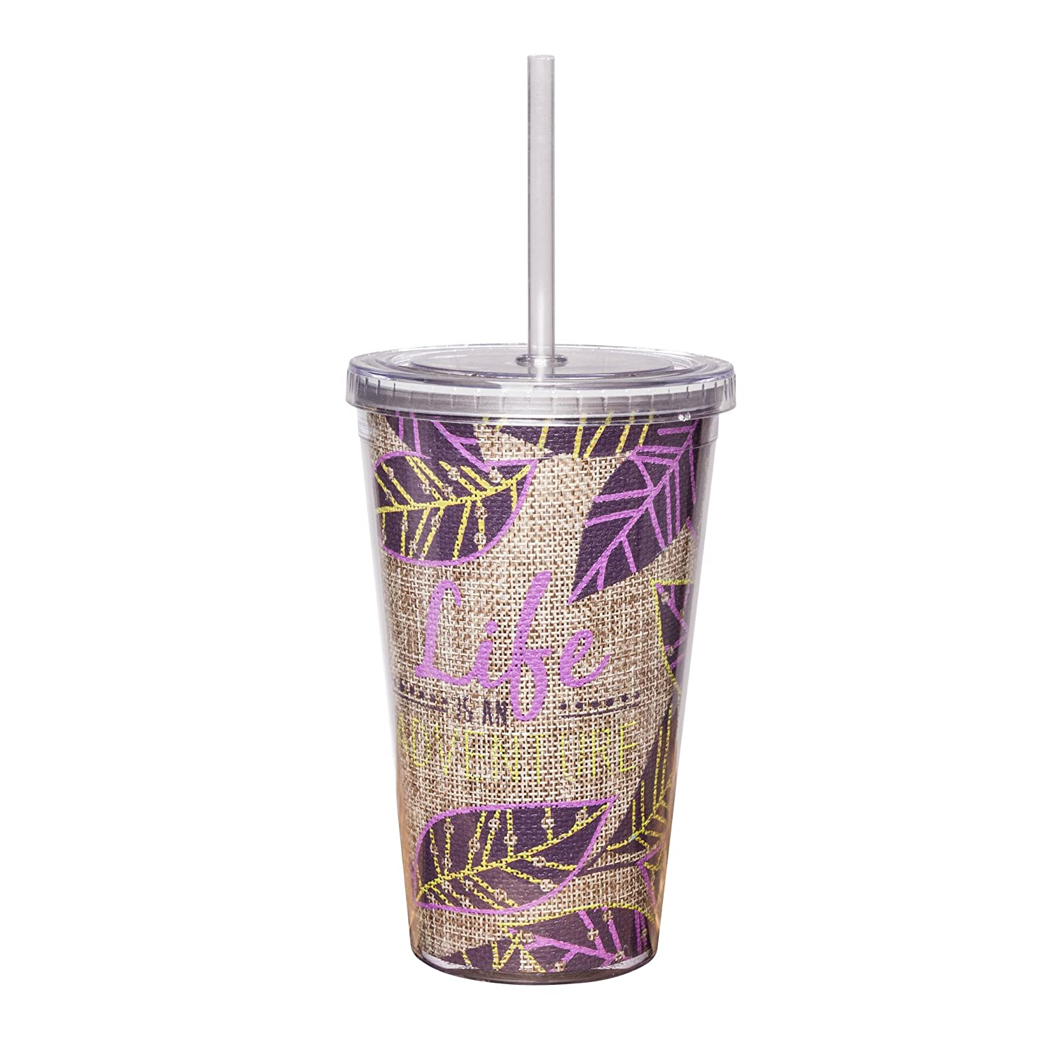 Leaves Karma Gifts Wild and Free Tumbler