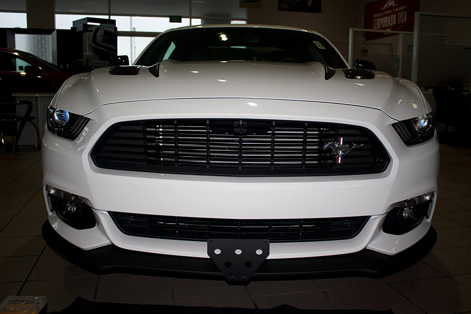 Ford Mustang 2016 California Special Sto-N-Sho Removable License Plate Sto N Sho