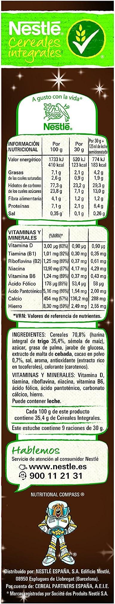 Nestlé Estrellitas Cereales de maíz y trigo tostados sabor galleta maría - 270 gr